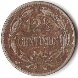 Moneta > 12½sentimo, 1945-1948 - Venesuela  - obverse