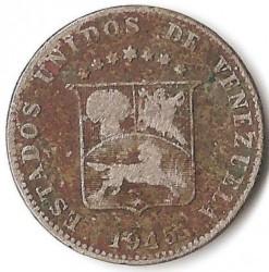 Moneta > 12½sentimo, 1945-1948 - Venesuela  - reverse