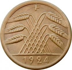 Moneda > 50rentenpfennig, 1923-1924 - Alemania  - obverse