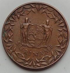 العملة > ١سنت, 1962-1972 - سورينام  - obverse