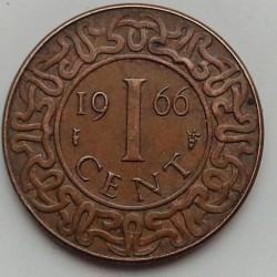 العملة > ١سنت, 1962-1972 - سورينام  - reverse