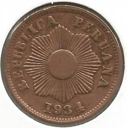 Moneda > 1centavo, 1901-1941 - Perú  - obverse