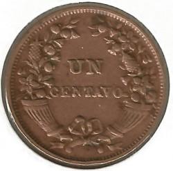 Moneda > 1centavo, 1901-1941 - Perú  - reverse