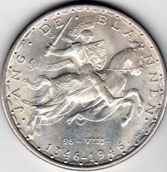 Moneta > 100franków, 1946 - Luksemburg  (600 rocznica śmierci - Jan Luksemburski) - reverse