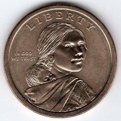 Coin > 1 dollar, 2013 - USA  (Native American - Delaware Treaty of 1778) - obverse