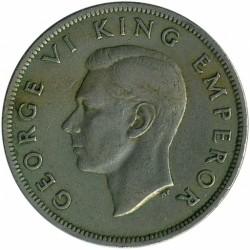 Монета > ½кроны, 1947 - Новая Зеландия  - obverse