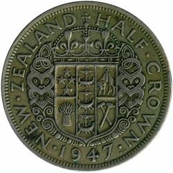 Монета > ½кроны, 1947 - Новая Зеландия  - reverse