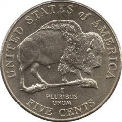 سکه > 5سنت, 2005 - ایالات متحده آمریکا  (Bicentenary of Lewis and Clark Expedition - Bison) - reverse
