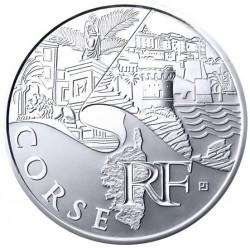 Moneda > 10euros, 2011 - Francia  (Regiones franceses - Corcega) - obverse