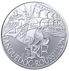 Moneda > 10euros, 2011 - Francia  (Regiones francesas - Llenguadoc-Rosselló) - obverse