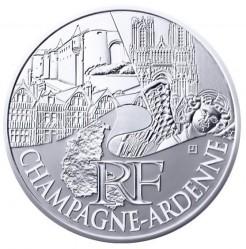 Moneda > 10euros, 2011 - Francia  (Regiones franceses - Champagne-Ardenne) - obverse
