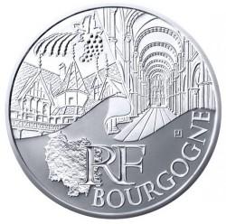 Moneda > 10euros, 2011 - Francia  (Regiones francesas - Borgoña) - obverse