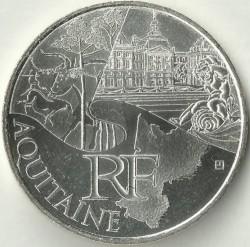 Moneda > 10euros, 2011 - Francia  (Regiones francesas - Aquitania) - obverse