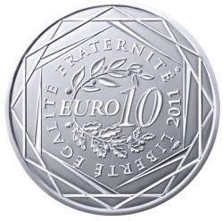 Moneda > 10euros, 2011 - Francia  (Regiones franceses - Guadalupe) - reverse