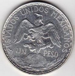 מטבע > 1פסו, 1910-1914 - מקסיקו  - obverse