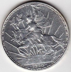 מטבע > 1פסו, 1910-1914 - מקסיקו  - reverse