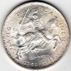 Moneta > 50franków, 1946 - Luksemburg  (600 rocznica śmierci - Jan Luksemburski) - reverse