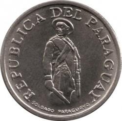 Moneta > 1gvaranis, 1975-1976 - Paragvajus  - obverse