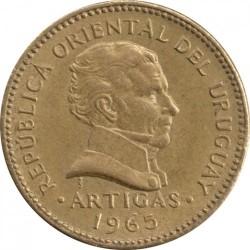 Νόμισμα > 1Πέσο, 1965 - Ουρουγουάη  - obverse