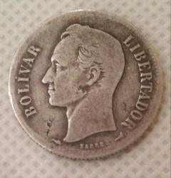 Монета > 2боливара, 1879-1936 - Венецуела  - reverse