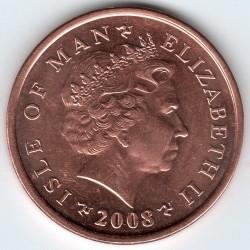 Монета > 2пенса, 2004-2016 - Острів Мен  - obverse
