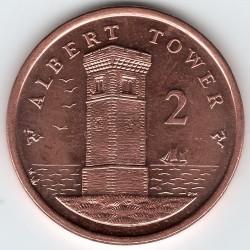Монета > 2пенса, 2004-2016 - Острів Мен  - reverse