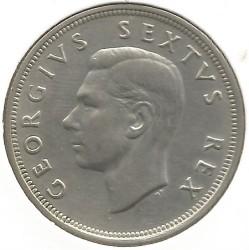 Münze > 2½Schilling, 1951-1952 - Südafrika   - obverse