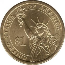 Münze > 1Dollar, 2007 - USA  (President of the USA - Thomas Jefferson (1801-1809)) - reverse
