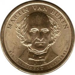 Монета > 1долар, 2008 - США  (Президент США - Мартін Ван Бюрен (1837-1841)) - obverse