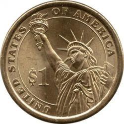 Монета > 1долар, 2008 - США  (Президент США - Мартін Ван Бюрен (1837-1841)) - reverse