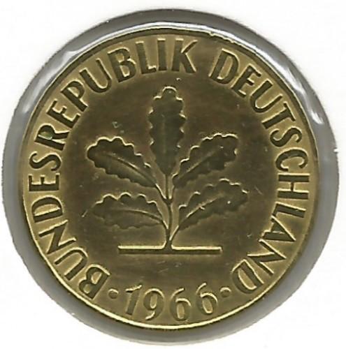5 Pfennig 1966 Allemagne Valeur Pièce Ucoinnet