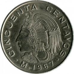 מטבע > 50סנטאבו, 1964-1969 - מקסיקו  - obverse