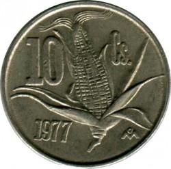 Νόμισμα > 10Σεντάβος, 1974-1980 - Μεξικό  - obverse