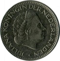 Монета > 1гульден, 1968 - Нидерланды  - reverse