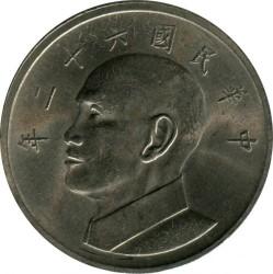 Монета > 5долара, 1970-1979 - Тайван  - obverse