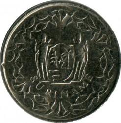 Moneta > 10centów, 1987-2017 - Surinam  - obverse