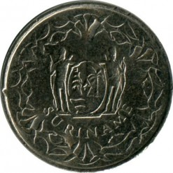 Moneta > 10centów, 1987-2017 - Surinam  - reverse