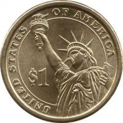 سکه > 1دلار, 2012 - ایالات متحده آمریکا  (President of the USA - Chester A. Arthur (1881–1885)) - reverse