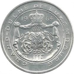 Монета > 100франков, 1964 - Люксембург  - reverse