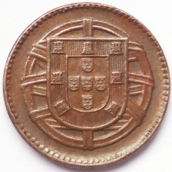 Coin > 1 centavo, 1917-1922 - Portugal  - obverse