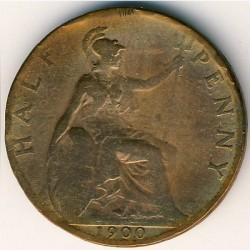 Moneda > ½penny, 1895-1901 - Regne Unit  - reverse