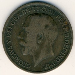 Coin > 1penny, 1917 - United Kingdom  - obverse