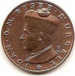 Münze > 5Diners, 1984 - Andorra  - obverse