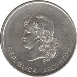 Кованица > 5центи, 1983 - Аргентина  - obverse