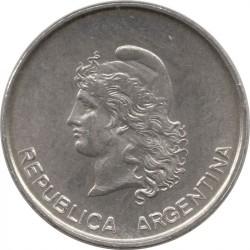 Кованица > 10центи, 1983 - Аргентина  - obverse