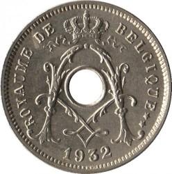 Moneta > 5centesimi, 1932 - Belgio  (Stella) - obverse
