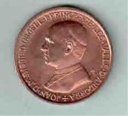 Coin > 25cèntims, 1986 - Andorra  - obverse