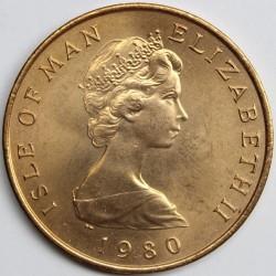 Кованица > 2пенија, 1980-1983 - Острво Мен  - obverse