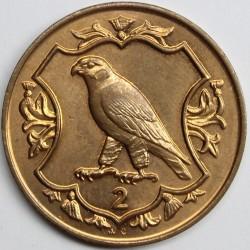 Монета > 2пенса, 1985-1987 - Остров Ман  - reverse