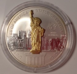 Coin > 10 dollars, 2006 - Cook Islands  (Word Monuments - Statue of Liberty) - obverse